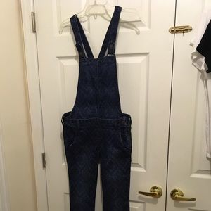 Hollister overalls. Size small skinny jeans